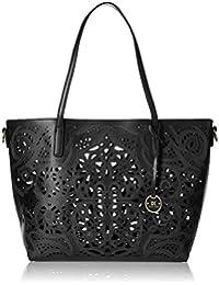 Diana Korr Womens's Shoulder Bag Handbag (Black) (DK64HBLK)