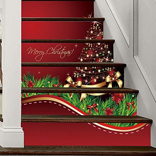 Mitlfuny Weihnachten Home TüR Dekoration 2019,Weihnachten 3D Simulation -