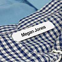 Iron on School Name Labels for Uniform, Simple to Use Name Tapes/Tags for Children