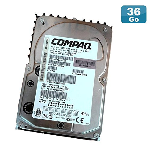 Compaq Festplatte 36.4gb Uscsi Ultra3 SCSI 3.5