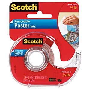 Scotch Removable Poster Tape
