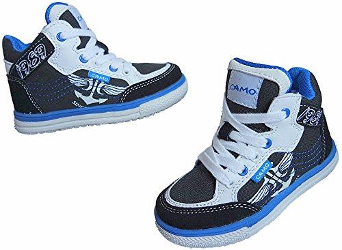 Kinder Freizeit Knöchelschuhe Turnschuhe Sneaker Schuhe gr.31 - 36 nr. 822 Schwarz JUAd9MIRWm