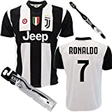 Camiseta de la Juventus de Cristiano Ronaldo personalizable