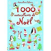1000 autocollants de Noël - Autocollants Usborne