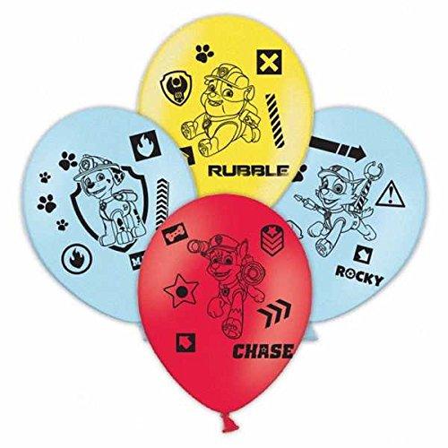 Amscan 99994527,9cm Paw Patrol 4-seitige Latex Luftballons