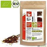250 g Rooibos Tee Orange Bio - Koffeinfrei - im aromadichten & wiederverschließbaren Beutel - Natürlich Tee by Naturteil