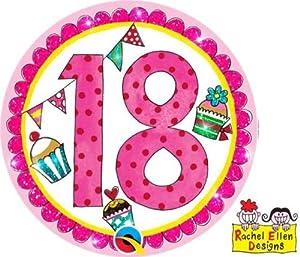 Rachel Ellen- Insignia de fiesta, Color rosa (25817)