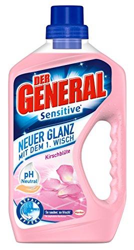 Der General Sensitive Kirschblüte Allzweckreiniger, 8er Pack (8x 750 ml)