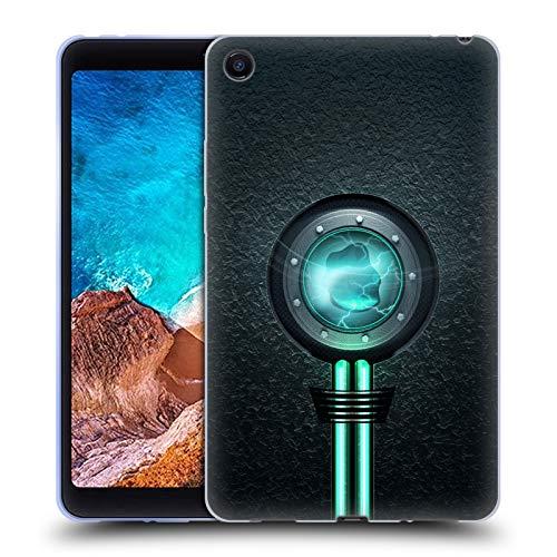 Head Case Designs Offizielle Alyn Spiller Reaktor Wasser Elementar Soft Gel Hülle für Xiaomi Mi Pad 4 -