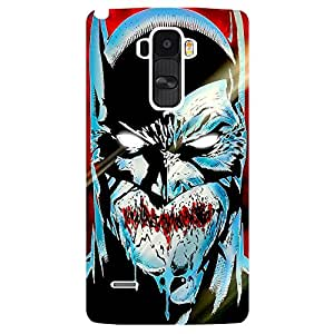 Angary man - Mobile Back Case Cover For LG G4 STYLUS