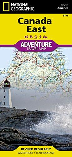 Canada east: travel maps international adventure map