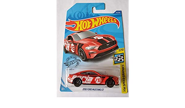 Hot Wheels 2020 2018 Ford Mustang GT HW Speed Graphics Red 92//250 Long Card by Mattel