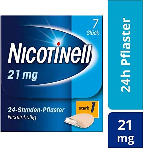Nicotinell 21 mg/24-Stunden-Pflaster (bisher 52,5 mg) Stärke 1 (stark), 7 St. Pflaster