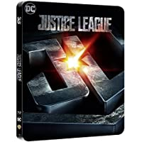 Justice League 3D / 2D Limited Edition Steelbook / Import / Region Free Blu Ray