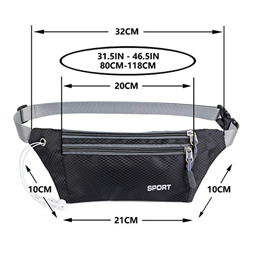 Zoom IMG-1 marsupio sportivo impermeabile running porta