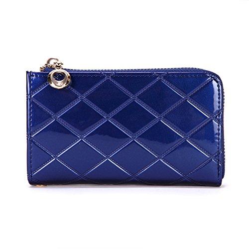 Rombico MS vernice fashion cocktail purse/Portamonete/Pacchetti di telefonia mobile/ mano trasportare-B D