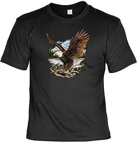 Indianer T-Shirt Adler Eagle Wild West T-Shirt Spirit Western American Free Spirit Amerika