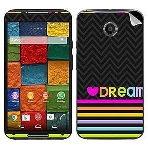 Theskinmantra Love Dream Motorola Moto X2 mobile skin