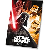 Disney Star Wars Darth Vader Soldado Imperial de Star Wars R2d2 de forro polar colcha edredón y funda de almohada
