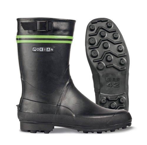 Nokian Footwear - Bottes en caoutchouc -Finntrim Black Edition- (Outdoor) [411] noir, vert