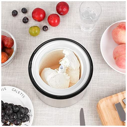 Gelatiera Macchina Yogurt congelato SENSIO CASA digitale