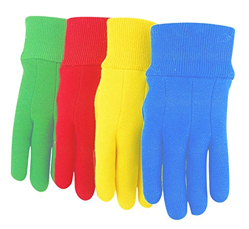 Caterpillar-baumwolle Handschuhe (Midwest Handschuhe 575K-k-az-1Baumwolle Jersey Garten Handschuh mit Caterpillar Print (144Paar), sortiert)