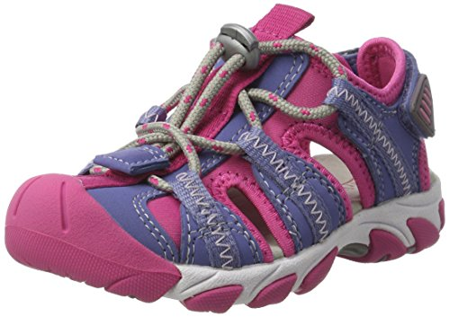 Superfit Octopuss, Sandales  Bout ouvert fille Pink (pink Kombi)