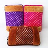 BNR Traders Rechargeable Electric Heat/Hand Warmer/Hot Water Bag (Multi Colour, Multi Design)