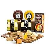 Hay Hampers, Ein Regenbogen von britischen Cheddar Käsesorten Picnickorb Geschenk
