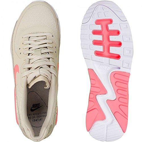 Nike  Wmns Air Max 90 Ultra 2.0, chaussure de sport femme Beige (Beige Oatmeal/Lava Glow-White-Dark Grey)