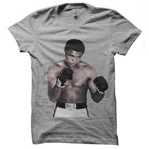 Jaydiz -  T-shirt - T-shirt  - Collo a U  - Maniche corte  - Uomo grigio X-Large
