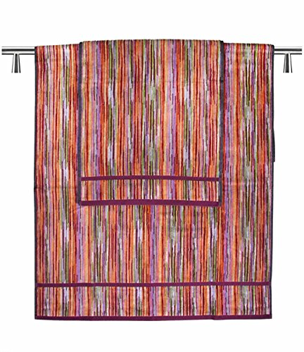 SET Asciugamano spugna viso + asciugamano ospite MISSONI disegno RONAN COLORE 159