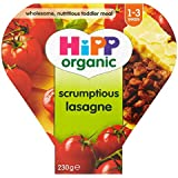 Growing Up Organic Hipp 12mth succulent repas Lasagne + (de 260g) -