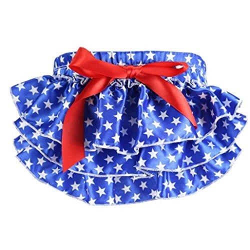 Jiacheng29 Baby Mädchen (0-24 Monate) Bekleidungsset Gr. Medium, blau -