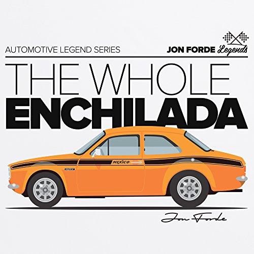 Jon Forde Whole Enchilada T-Shirt, Herren Wei
