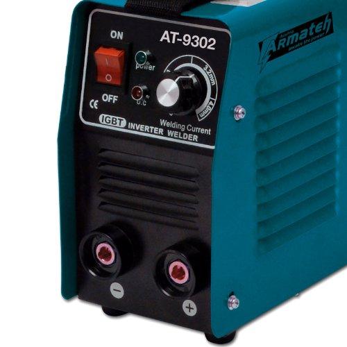Kompakt Elektrodenschweißgerät 200A – 4,5mm / Inverter Schweißgerät MMA, ARC / Einschaltdauer 100 % bei 155A - 3