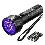 LE UV Taschenlampe, 51 LEDs, Haustier Fleckendetektor & Urindetektor,...