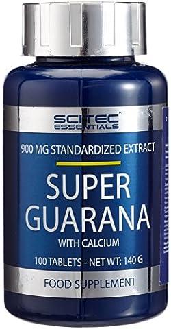 Scitec Ref.101422 Guarana Complément Alimentaire 100 Tablettes