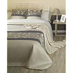 Colcha elegante modelo Helena - cama 135 - medida 220x260