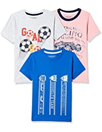 Sunday Sale : Flat 50% And More OFF On Cherokee Boys' Plain Combo T-Shirt (Pack of 3) low price image 9