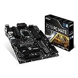 MSI Z270 PC Mate LGA 1151 DDR4 HDMI,DVI,D-Sub 2x M.2 & 10x USB 3.1(2x Gen2 & 8x Gen1), 1x USB-C ATX Mainboard