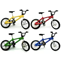 aoixbcuroc Finger Mountain Bike Cool Boy Toy Creative Game Toy Set Collections [4 Pack]