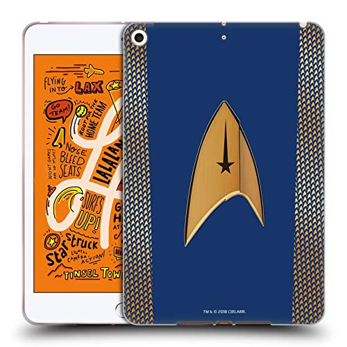 Head Case Designs Offizielle Star Trek Discovery Kommando Uniformen Soft Gel Huelle kompatibel mit iPad Mini (2019) (Star 2019 Trek Uniform)