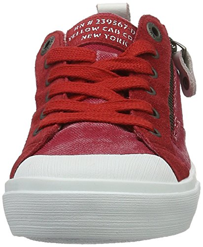 Yellow Cab Damen Strife W Sneakers Rot (Red)