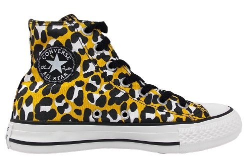 Converse Ctas Cheetah Hi 289130-55-131 Damen Sneaker OLD GOLD / BLACK / WHITE