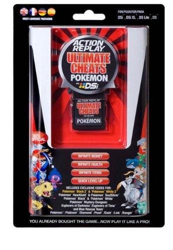DSi Action Replay Ultimate Cheats Pokémon (DSi/DS Lite/DS XL/DS)