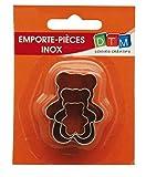 MTD 3MINI Emporte-pièces en acier inoxydable Bears