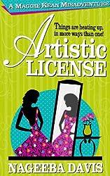 Artistic License (Maggie Kean Misadventures Book 2) (English Edition)