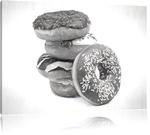 doux-donuts-dessin-au-fusain-effet-format-120x80-sur-toile-xxl-enormes-photos-completement-encadrees