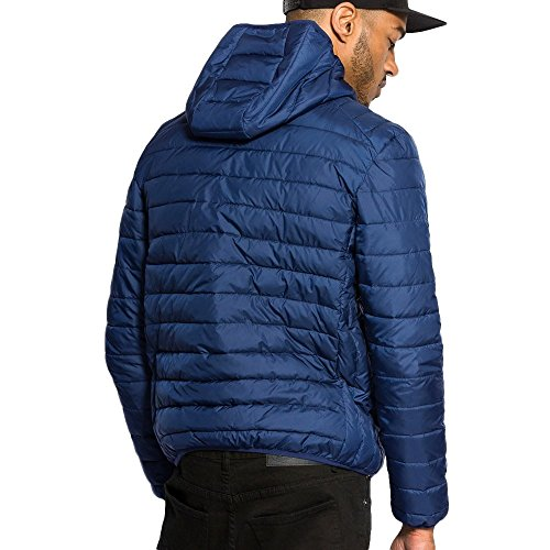 Mens Ellesse Padded Jacket | Lombardy | Estate Blue Estate Blue